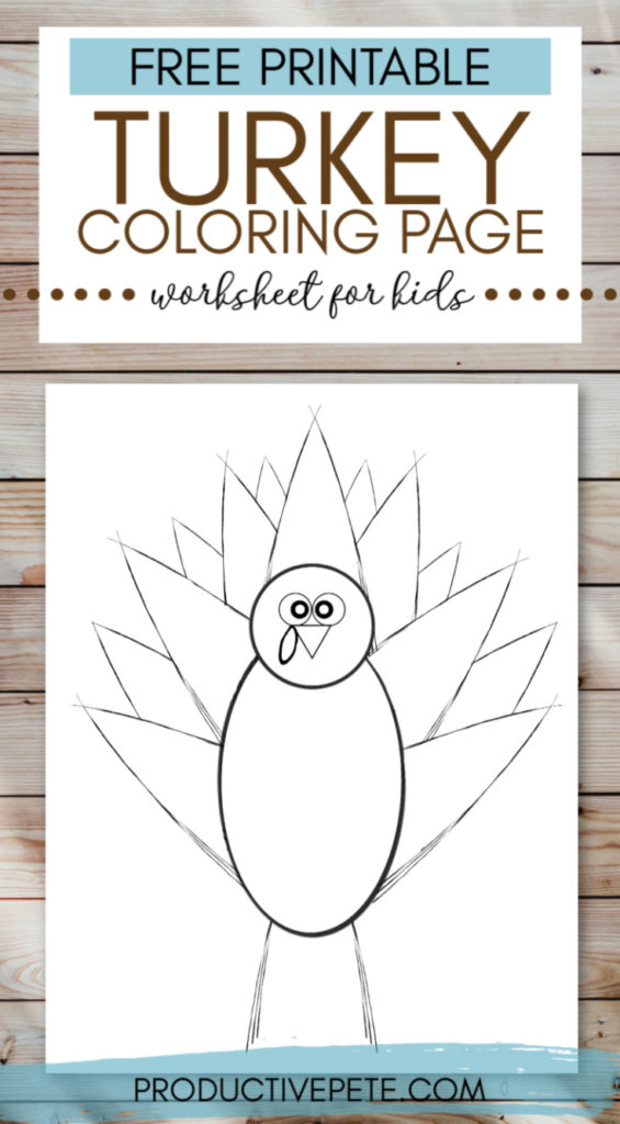 Simple Thanksgiving Coloring Pages - GetColoringPages.com | 1024x565